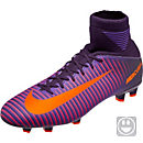 Nike Kids Mercurial Superfly V FG Soccer Cleats - Purple Dynasty & Hyper Grape