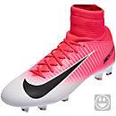 Nike Kids Mercurial Superfly V FG Soccer Cleats - Racer Pink & Black