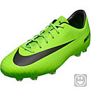 Nike Kids Mercurial Vapor XI FG - Electric Green/Flash Lime