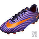 Nike Kids Mercurial Vapor XI FG Soccer Cleats - Purple Dynasty & Hyper Grape