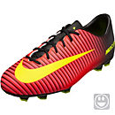 Nike Kids Mercurial Vapor XI FG - Crimson & Black