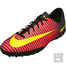 Nike Kids Mercurial Vapor XI TF - Crimson & Black