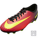 Nike Kids Mercurial Vortex III FG - Crimson & Black