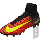 Nike Mercurial Superfly V AG-Pro - Total Crimson & Volt