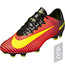 Nike Mercurial Vapor XI FG - Total Crimson & Black