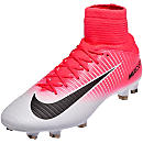 Nike Mercurial Veloce III DF FG Soccer Cleats - Racer Pink & Black