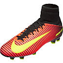 Nike Mercurial Veloce III FG Soccer Cleats - Total Crimson & Black