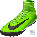 Nike Kids MercurialX Proximo II TF Soccer Shoes - Electric Green & Ghost Green