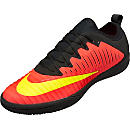 Nike MercurialX Finale II IC Soccer Shoes - Crimson & Pink Blast