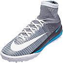Nike MercurialX Proximo II TF Soccer Shoes - Wolf Grey & Pure Platinum