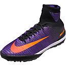 Nike MercurialX Proximo II TF Soccer Shoes - Black & Hyper Grape