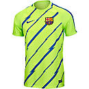 Nike Barcelona Breathe Training Top - Ghost Green & Game Royal