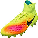 Nike Magista Orden II FG Soccer Cleats - Volt & Total Orange