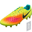Nike Magista Opus II FG Soccer Cleats - Volt & Total Orange