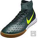 Nike Kids MagistaX Proximo II IC Soccer Shoes - Seaweed & Volt