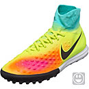 Nike Kids MagistaX Proximo II TF Soccer Shoes - Volt & Hyper Turquoise