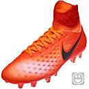 Nike Kids Magista Obra II FG - Total Crimson & University Red