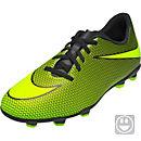 Nike Kids Bravata II FG - Black & Volt