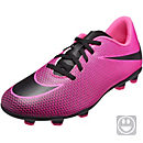 Nike Kids Bravata II FG Soccer Cleats - Pink Blast & Black