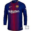 Nike Barcelona Home L/S Jersey 2017-18