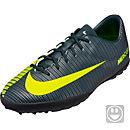Nike Kids Mercurial Vapor XI TF Soccer Shoes - CR7 - Seaweed & Hasta