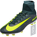 Nike CR7 Mercurial Superfly V FG Soccer Cleats - Seaweed & Hasta