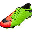 Nike Hypervenom Phade III FG - Electric Green & Hyper Orange