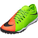 Nike HypervenomX Finale II TF - Electric Green & Hyper Orange