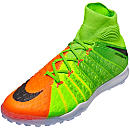 Nike HypervenomX Proximo II TF - Electric Green & Hyper Orange