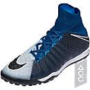 Nike HypervenomX Proximo II DF TF Soccer Shoes - Brave Blue & Black