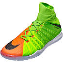 Nike HypervenomX Proximo II IC - Electric Green & Hyper Orange