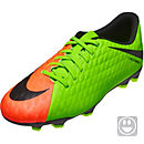 Nike Kids Hypervenom Phade III FG - Electric Green & Hyper Orange