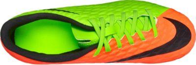 Nike Women's Hypervenom Phantom III DF FG Soccer Cleats (Wolf Grey/Purple Dynasty/Max Orange)