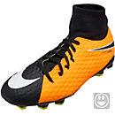 Nike Kids Hypervenom Phelon III DF FG - Laser Orange & Black