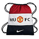 Nike Manchester United Gymsack  Red with Black