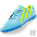 adidas freefootball xite Youth  Samba Blue and Solar Slime