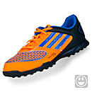 adidas Youth Freefootball Xite Turf Soccer Shoe  Tech Onix with Zest and Bright Blue