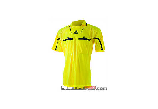 adidas Referee Jersey  Neon Yellow with Dark Grey