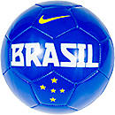 Nike Brazil Supporter Soccer Ball  Blue
