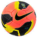 Nike Brasil Maxim Soccer Ball  Mango with Black