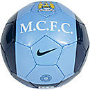 Nike Manchester City Skills Soccer Ball  Navy with White
