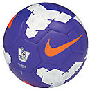 Nike Pitch EPL Soccer Ball  Purple with White and Total Orange
