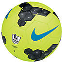 Nike Pitch EPL Soccer Ball  Volt with Black and Blue