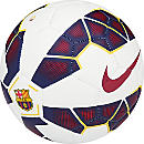 Nike Barcelona Prestige Soccer Ball - White and Blue