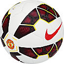 Nike Manchester United Prestige Soccer Ball - White and Black