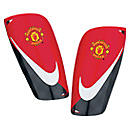 Nike Manchester United Mercurial Lite Shin Guards  Red with Black
