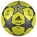 adidas Finale 12 Capitano Soccer Ball  Lab Lime with Black