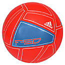 adidas F50 Xite Soccer Ball  Infrared with Bright Blue and White