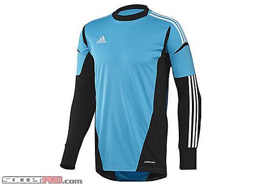 Adidas cono 12 goalkeeper jersey gt gt free shipping gt gt blue gk jerseys