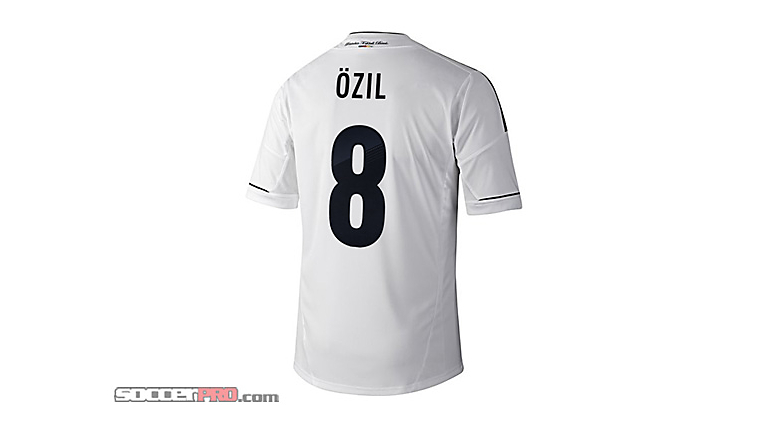 adidas Youth Germany Ozil Home Jersey 2012-2013